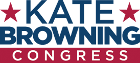 Kate Browning for Congress logo
